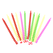 26 PCS Plastic Styling Hair Rollers Curler Magic Spiral Perm Rod Bars Salon Hairdressing Tools Baber Rotating Screw