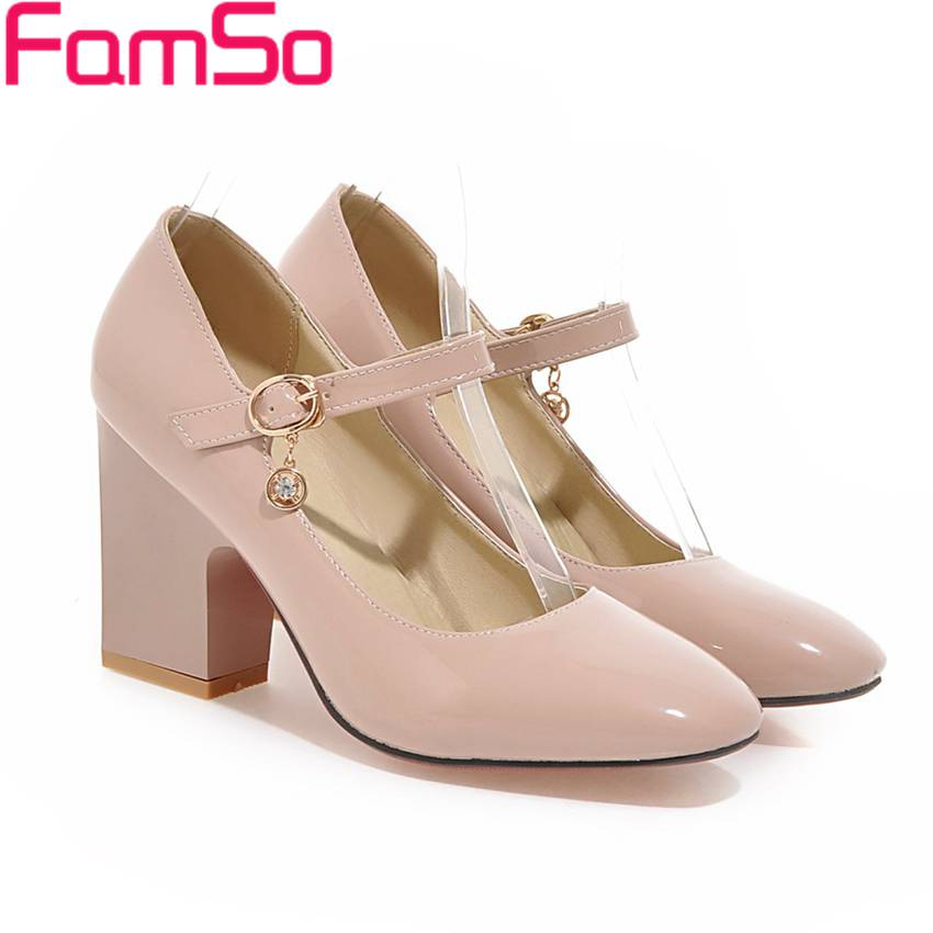 Plus Size34-43 2017 Shoes Women Pumps Spring High Heels Wedding Shoes Autumn Rhinestone Pumps Womens Classics Nude Pumps PS2527<br><br>Aliexpress