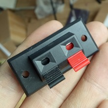 2 way Push Type Speaker Terminal Board Wire terminal clip(China)