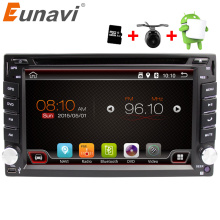 Eunavi Universal 2 din Android 6.0 Car DVD player GPS+Wifi+Bluetooth+Radio+Quad Core+DDR3+Capacitive Touch Screen+car pc+stereo