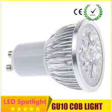 1X High power CREE GU5.3 gu10 9W 12W 15W 220V 110V Dimmable Led spot Light mr16 12v LED lights downlight lighting free shipping
