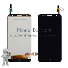 5.5'' Full LCD DIsplay + Touch Screen Digitizer Assembly For Alcatel Pop 4+ OT 5056 5056A 5056D 5056E 5056T ; Black ; New