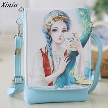 Hot Sale Mini Handbags Fashion Girls Shoulder Bags Women's Handbags & Cartoon Cute Bag Clutch Kids Small Crossbody Messenger Bag(China)