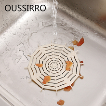 1Pcs Spider Kitchen Sucker Sink Filter Sewer Drain Hair Plastic Colanders Strainers Round Filter Bathroom Accessories(China)