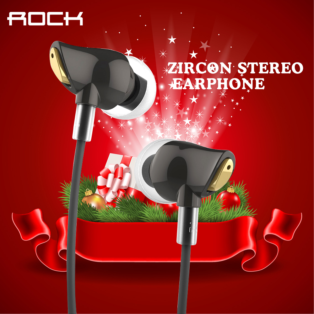 Original Rock Zircon Stereo Earphone In Ear Amazing Noise Isolation In Balanced Immersive Bass Perfect Fone De Ouvido sem fi<br><br>Aliexpress