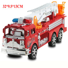 32*9.5*13CM Toys Car Inertial Fire Fighting Truck Car Boys Toys for Children(China)