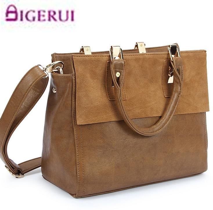 Women bag ladies frosted Genuine leather bag vintage bags handbags women famous brands women messenger bags dollar price A58<br>