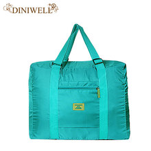 DINIWELL Foldable Waterproof Large Nylon Travel Camping Cycling Luggage Suitcase Organizer Storage  Container Tote Bags Folding
