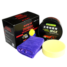 Hgh Quality Car Care Product Crystal Car Coating Solid Wax Clear Coat Scratch Repair Auto Wax fix it pro cera para carro(China)