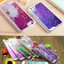 For iPhone 6s Case Bling Glitter Sparkle Stars Quicksand Liquid Plastic Cover Case For iPhone 6 6S Plus Water Case Coque Fundas