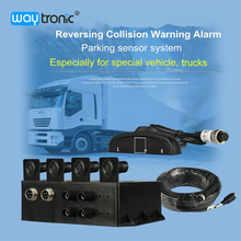 Truck car reverse backup radar parking sensor assistance system with LED display(China)