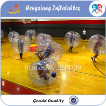 6pcs+1blower ,New design inflatable bubble ball for football/body bubble ball/bubble ball soccer