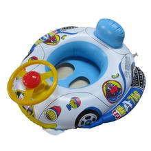 hot Baby Swimming Ring Inflated Swim Pool Float Baby Float Seat Infant Car Shape Swim Ring(China)