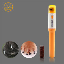 Pet nail clipper Pedi Painless Pet Dogs Cats Paw Nail Trimmer Cut Electric Pets Grinding Grooming Product PH27(China)