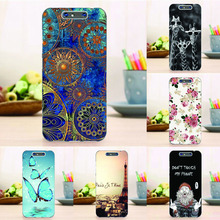 New Soft Silicon Case For ZTE Blade V8 5.2'' Floral Tower Pattern Cover for ZTE Blade V8 V 8 Case Top Quality