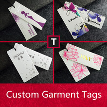 Free Design New Custom Printed Fancy High Quality Hang Tags for Clothing Garment/Shoes/Jeans/Luggage Luxurious Tags Labels(China)