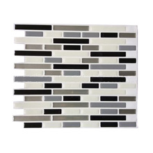 3D Tile Mosaic Pattern Wallpaper Modern Wall Background LivingRoom Kitchen DecorPattern:#10 235Mm X285mm X1mm(China)