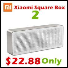 Original Xiaomi Speaker Square Box 2 Bluetooth 4.2 Portable Stereo Handsfree Mini Loudspeaker Xiaomi Bluetooth