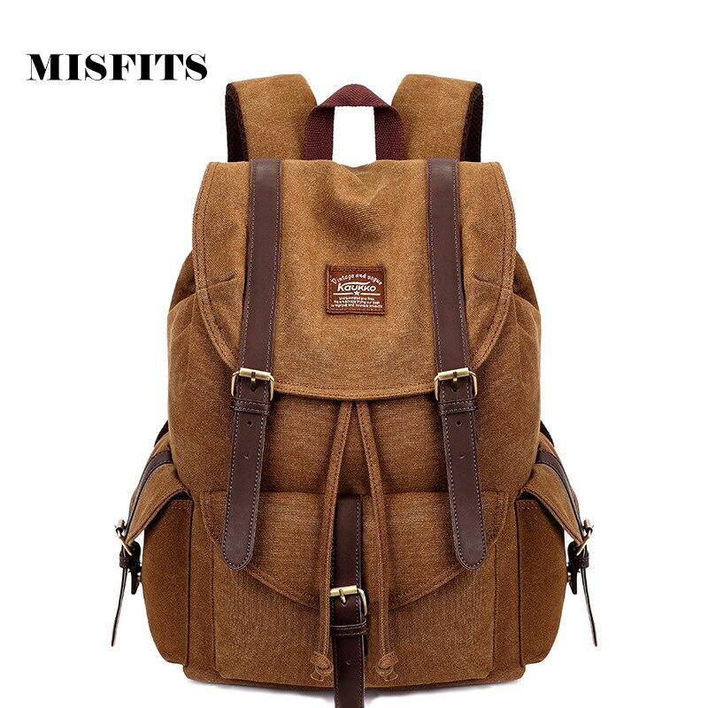 Men Women Canvas Backpack Leisure Travel Bag Backpack Vintage Fashion Mens Laptop Backpacks School Bags<br><br>Aliexpress