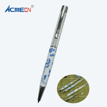 ACMECN Crystal Ball pen China Element Tourist Souvenirs Gifts Office & School Supplier Rhinestone Pen Ballpoint(China)
