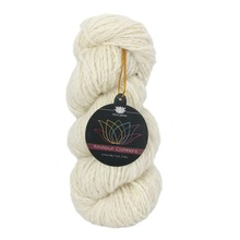 1 piece Handspun 100% Cashmere Yarn Pure Cashmere Yarn color nat white