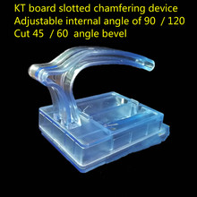 Free shipping Advertising KT board chamfering KT board slotting machine KT board side edge clamp KT board engraving knife(China)