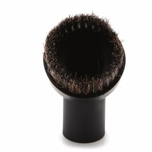 32mm New Horse Hair Round Dusting Brush Dust Tool Parts For Vacuum Cleaner Round(China)
