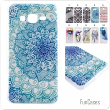 Slim glossy Campanula feathers cartoon girl feathers soft TPU IDM Coque Fundas Phone Case for Samsung Galaxy Grand Prime G5308