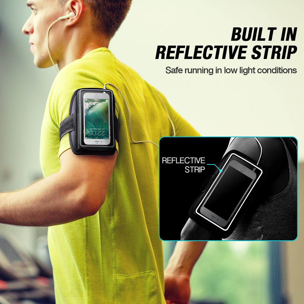 Armband for your mobile phone Waterproof  Sports Running Hiking ArmBand 5 inches Pouch Touch Case Cover