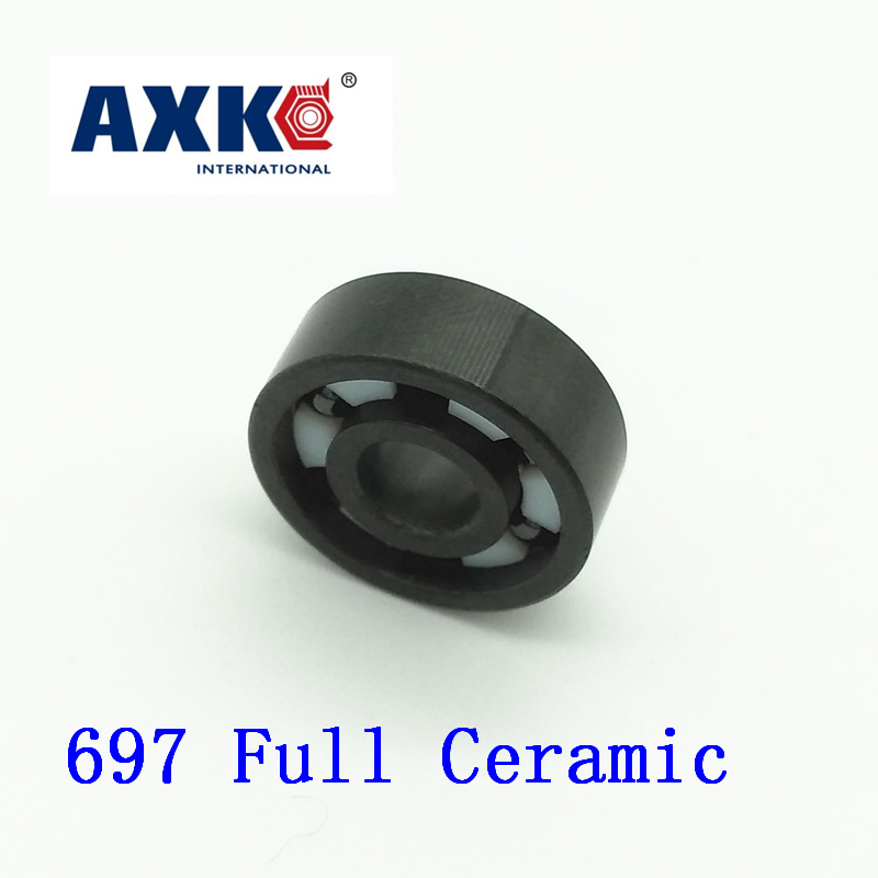 2017 Rodamientos Axk 697 Full Ceramic Bearing ( 1 Pc ) 7*17*5 Mm Si3n4 Material 697ce All Silicon Nitride 619/7 Ball Bearings<br>