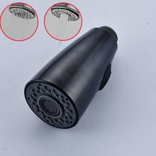 Wholesale and Retail Black Replacement Kitchen Faucet Sprayer Head ABS Plastic Material