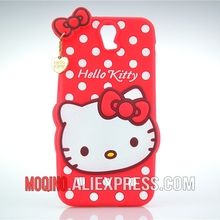 For HTC One E9+ Case 3D Lovely Cute Hello Kitty Kt Cat Silicon Back Case Soft Cover Phone Case