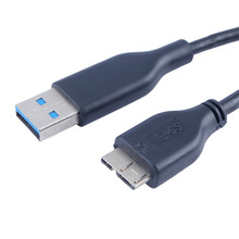 USB 3.0 Cable USB3.0 HDD Data Cable A Male to Micro B Extension Cord USB Extension Cord(China)