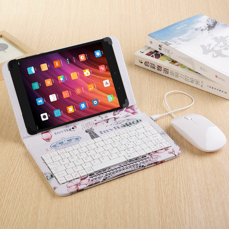 Fashion Mouse with Keyboard Case for 8.4 inch Teclast T8 Tablet PC for Teclast T8 Keyboard case with Mouse<br>