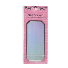 Brand New Fashion 1Pc Nail Art Transfer Foils Sticker Decal UV Nails Shiny Laser Paper Manicure Decorations Silver Gold Hot(China)