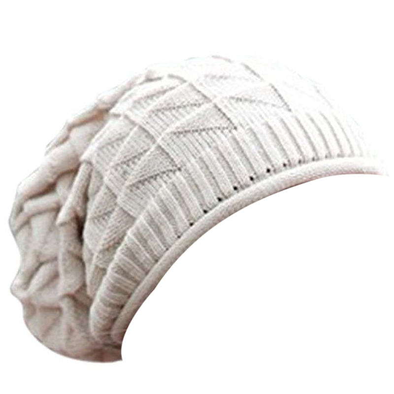 MYPF-1Pcs Fashion Women Lady Girls  Diamond Warm Knitted Wool Hats Cap