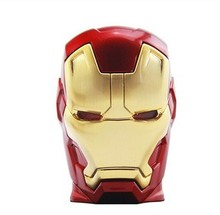 Iron man usb flash drive 4gb 8gb 16gb 32g 64gb Thumb drive flash disk memory stick Pendrive 50pcs/lot