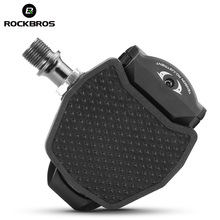 ROCKBROS Bike Bicycle Pedals Cleats Cover For SHIMAMO LOOK Cycling Bike Pedal Ultra-light Self-locking SPD KEO System Bike Parts(China)