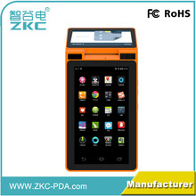 android pos terminal with 58mm printer rfid all in one for payment system ZKC 901