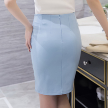 New Arrival Spring 2017 Hot Sale Sexy Slim Fashion Women Empire Skirt Female Elegant Plus Size Solid Pencil OL Skirt 159F 25