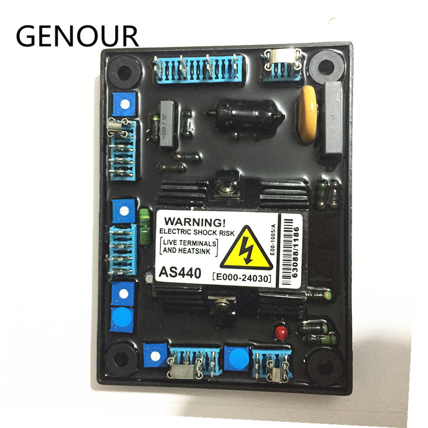 AS440 AVR for brushless alternator high quality generator spare part voltage regulator automatic<br>