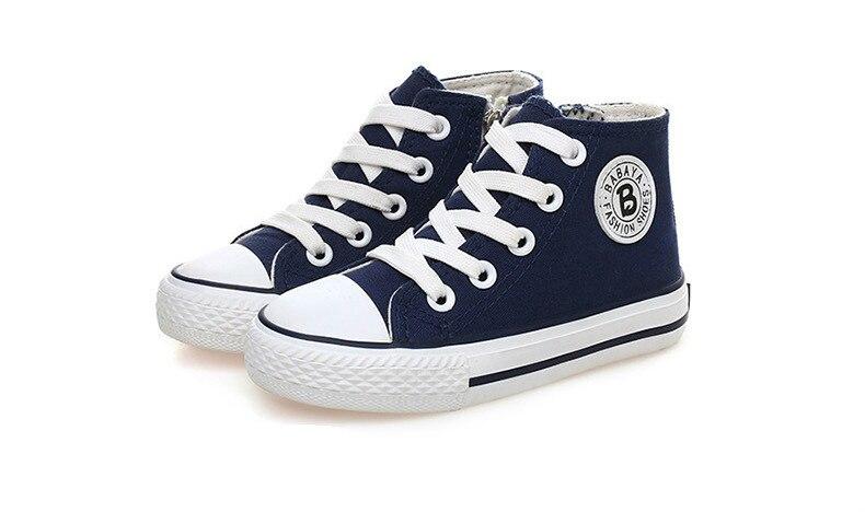 Enfants chaussures pour fille enfants toile chaussures garçons 44