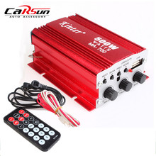Motorcycle Car Audio Amplifier 2 Channel 12V 500W Car Boat Home Hi-Fi Stereo USB AUX mp3 AMP Kinter MA-700