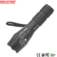 E17 Torch 3x AAA Flashlight 18650 ZOOM LED Torch Flash lights 5 Mode XML T6 Aluminum Adjustable lanterna(China)