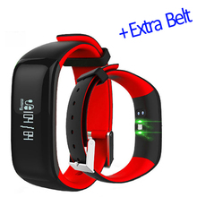 Fitness Bracelet Pedometer Watches Blood Pressure Monitor Fitness Watch Smart Band Activity Tracker Smart Bracelet P1 Smartband
