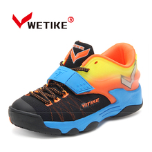 WETIKE2017Kids Basketball Shoes Shockproof Running Walking Sport Shoes Outdoor Sneakers For Boys Girls Basketball Training Shoes(China)