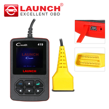 Launch CReader 419 OBD2 Code Reader Diagnostic Scanner with Manufacturer Specific DTCs online update CR419 same as CR4001(China)