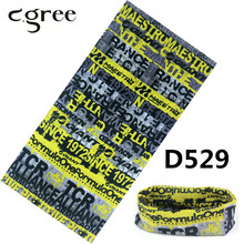 C.gree 2017 Popular Bandanas Multifunctional Seamless Tubular Fishing Bandana 25*48cm Anime Sport Tube Scarf hijab Head Wrap(China)