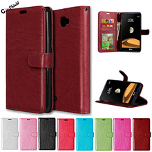 Magnetic Flip Case for LG X MAX K240 K240H Case Photo Frame Wallet Phone Leather Cover for LG Xmax LGK240 K 240 240H Cases Bag