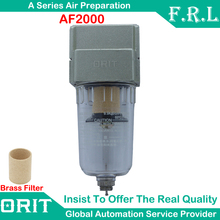 "On Sale Pneumatic Air Filter AF2000-02 G1/4"" Source Treatment Unit SMC Type Oil Water Trap Separator"